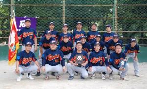 第51回TKK野球大会優勝 理科研㈱野球部の皆さん