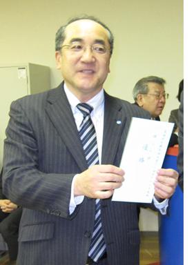 個人優勝 オザワ科学㈱ 粟田道夫さま